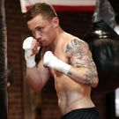 Boxing clever: Carl Frampton (pictured) and Leo Santa Cruz will both employ different tactics when they clash again