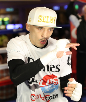 Keen: IBF king Lee Selby wants to take on Carl Frampton
