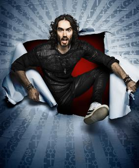 Russell Brand is coming to Belfast in 2018