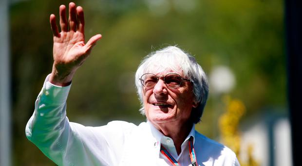 End of an era: Bernie Ecclestone has been stood down as F1 chief after four decades following the Liberty Media takeover