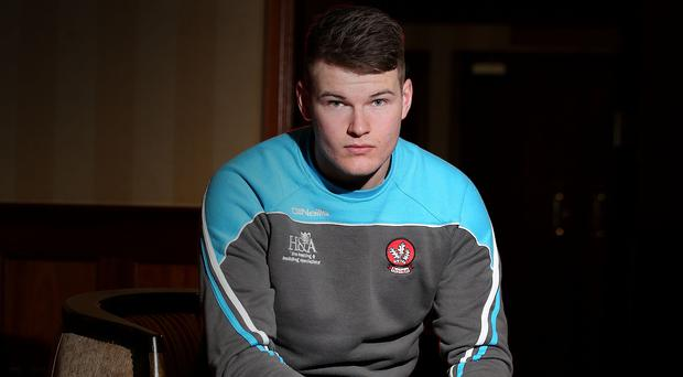 All in hand: Derry's Ben McKinless is relishing the McKenna Cup final