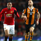 On your marks: Anthony Martial will start against Wigan