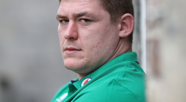 Firmly focused: Tadhg Furlong only has eyes for Scotland ahead of Ireland's Six Nations opener at Murrayfield