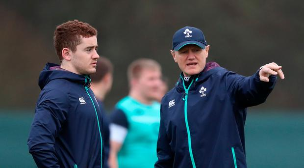Pointing the way: Paddy Jackson has earned the trust of coach Joe Schmidt