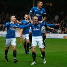 Man on a mission: Mark Warburton has called on his Rangers players to repeat the performance against Hearts tonight that saw off Motherwell at the weekend