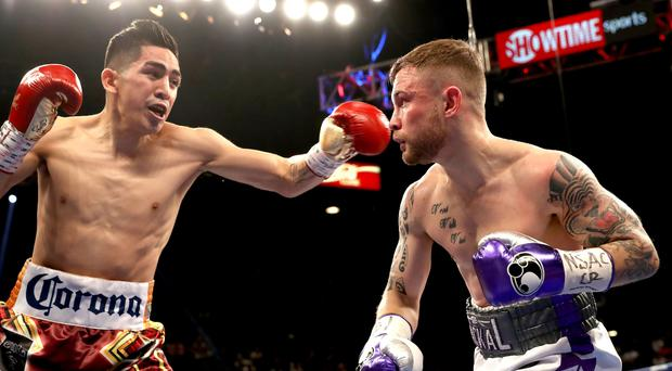 Loss Vegas: Carl Frampton may have lost out to Leo Santa Cruz but showed even more class after the fight