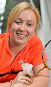 Top seed: Sinead Chambers favourite to win another women's doubles title