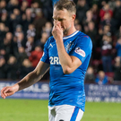 Dejected: Rangers' Clint Hill