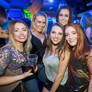 People out at Bot Wednesdays for Re-Freshers Ball. 1st February 2017. Liam McBurney/RAZORPIX
