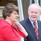 It's been reported Arlene Foster and Martin McGuinness made the invitation before the collapse of the Stormont institutions.