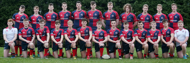 Up for the Cup: Ballyclare High squad which will face RBAI tomorrow