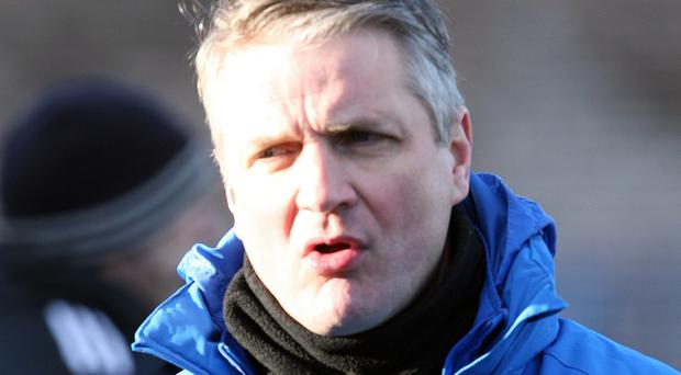 Sticking at it: Ards boss Colin Nixon