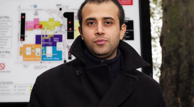 Traumatic time: doctor Youssef el-Gingihy discovered he had Hodgkin's lymphoma
