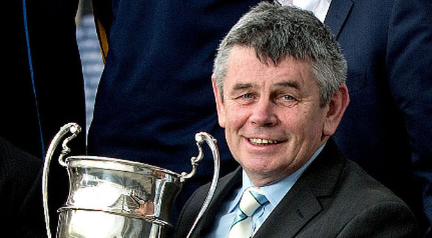 Leading the way: Martin Skelly is the frontrunner to become the next GAA President