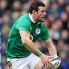 Not over yet: Robbie Henshaw is confident Ireland can still win the Six Nations crown despite their opening defeat to Scotland