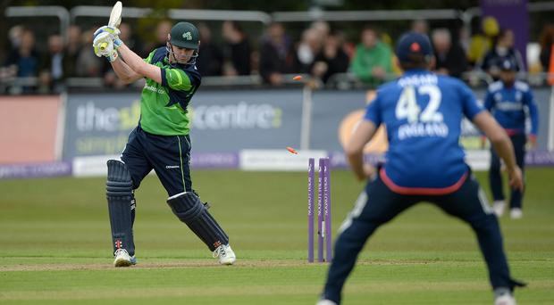 Ultimate showdown: Ireland are on course to play England at Lord's in a Test match in 2019