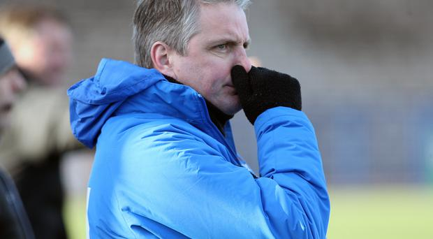 Primed: Ards boss Colin Nixon says his players have the stomach for a battle against relegation