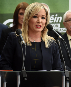 Under fire: Michelle O'Neill