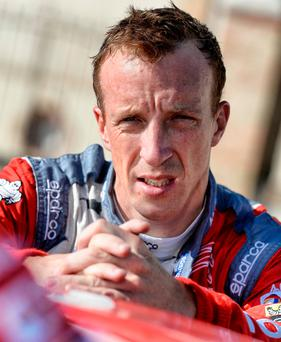 Starting over: Kris Meeke is eager to get back on track in Sweden