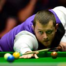 Whitewash: Mark Allen was in red-hot form in Preston