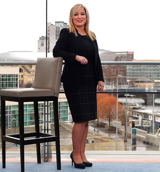 Michelle O'Neill . (Photo by Charles McQuillan/Getty Images)
