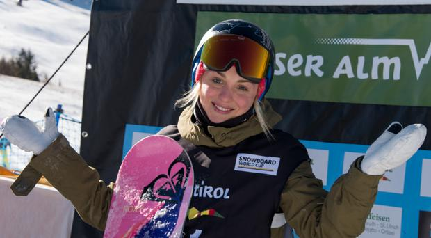 Bangor-based Aimee Fuller is aiming for the Winter Olympics