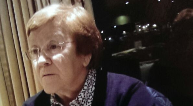 Police confirmed Jean McAllister (81) died in hospital after she went missing from her Bangor home.