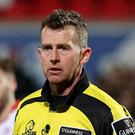 Ulster v Edinburgh, Pro12 rugby at Kingspan Stadium, Belfast. Referee Nigel Owens Photographer - © Matt Mackey / Press Eye