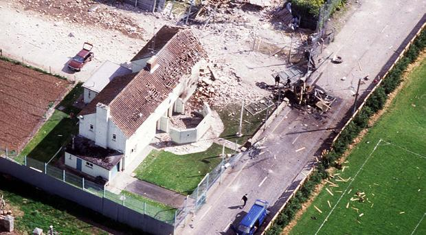 The attack on Loughgall RUC station