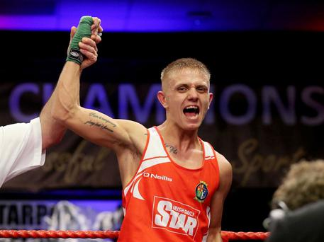 Number one: bantamweight Kurt Walker is eyeing a hat-trick of titles