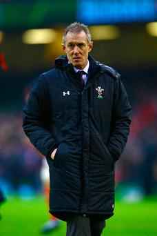 Credit due: Rob Howley has been impressed by England's attitude