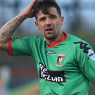 Sitting it out: Nacho Novo was an unused substitute
