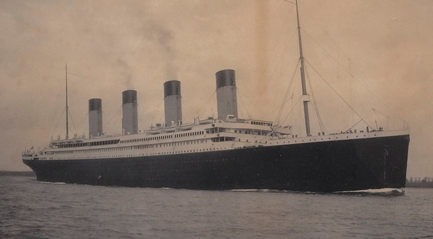 A similar photo of the Titanic sold in 1998 for £1,840
