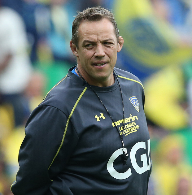 Ulster bound: Clermont's Jono Gibbes could be confirmed today as new Ulster Head Coach