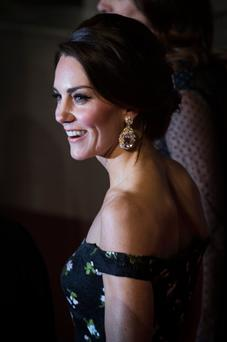Catherine, Duchess of Cambridge attends the 70th EE British Academy Film Awards (BAFTA) at Royal Albert Hall on February 12, 2017 in London, England. (Photo by Tristan Fewings/Getty Images)