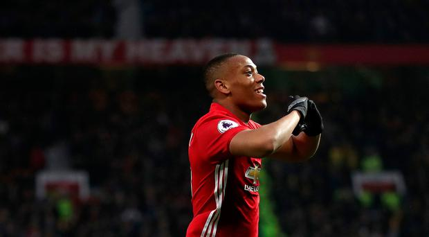 On form: Anthony Martial