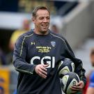 Safe hands: Current Clermont forwards coach Jono Gibbes will be Ulster's new head coach from next season