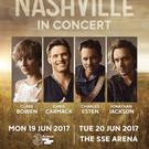 The tour features cast members Clare Bowen, Chris Carmack, Charles Esten and Jonathan Jackson, plus Sam Palladio on select dates