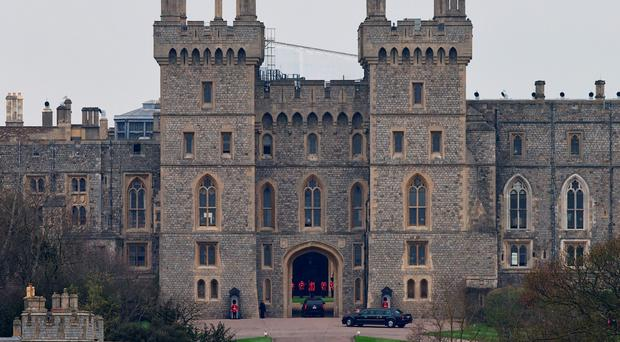 Royal Mail said the 10 stamps are a photographic celebration of the castle, the oldest inhabited castle in the world and the official residence of the Queen
