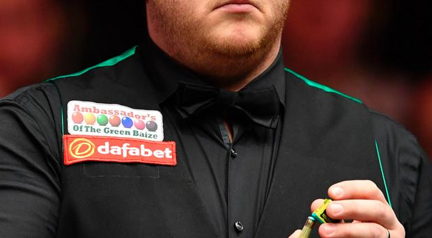 Cruise control: Mark Allen completed an easy first round victory