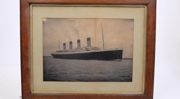 Valuable: the Titanic picture