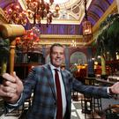 Wilsons Auctions group operations director Peter Johnston will be the man selling hundreds of items from Cafe Vaudeville next Thursday