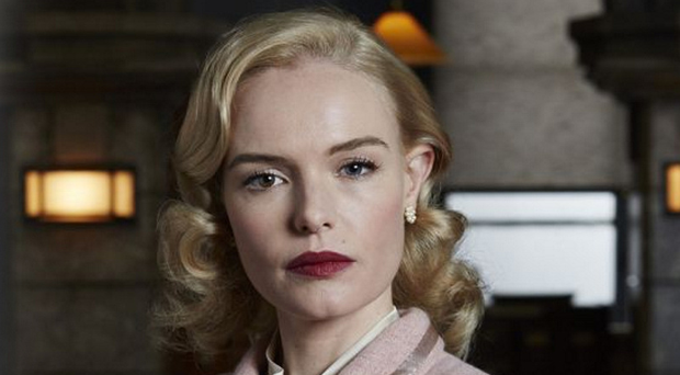 Classy show: Kate Bosworth in SS-GB