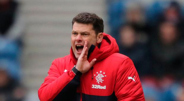 In with a shout: Caretaker Graeme Murty will lead Gers at Parkhead unless a new boss is found