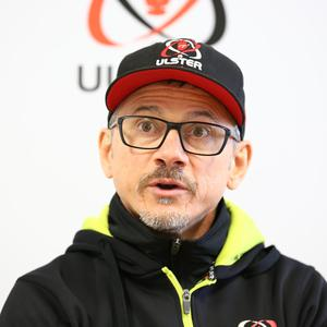 Aiming high: Ulster's Les Kiss
