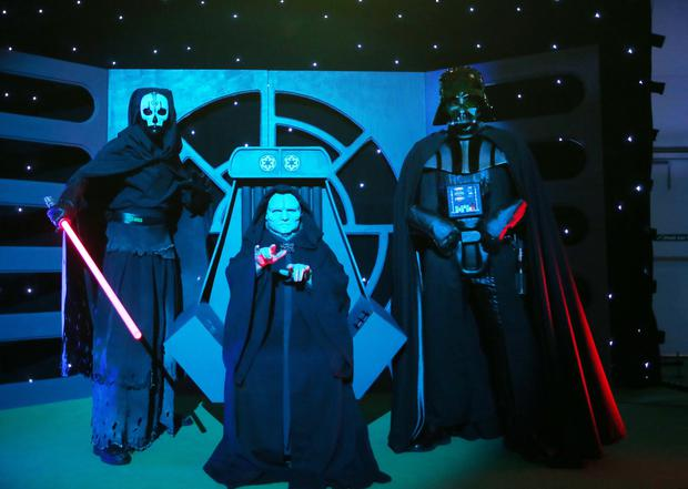 Emerald Isle Garrison brings Invasion NI Star Wars convention to the Eikon Exhibition Centre at the Maze outside Lisburn. Picture by Jonathan Porter/PressEye.com