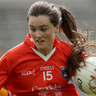 On target: Aimee Mackin hit 0-8 for Armagh