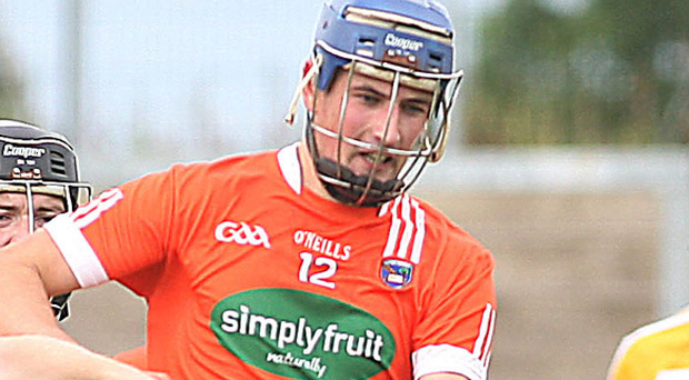 On song: David Carvill's six points kept Armagh alive