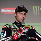 Double champ: Jonathan Rea and Kawasaki are all set to chase title number three and will start the year as favourites
