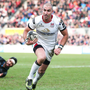 He's back: Ruan Pienaar was majestic, for Ulster scoring a try on his return from injury